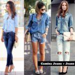 Como usar: camisa jeans!