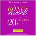 Dia da Mulher: Bônus para comprar no Posthaus.com