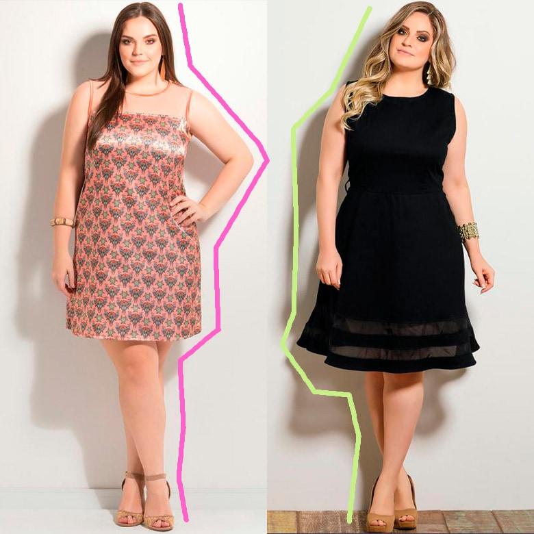 vestidos de festa plus size