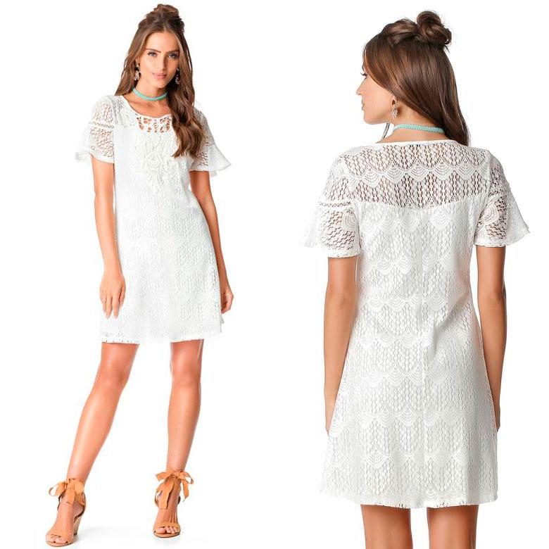 9fc3de97a6 Arquivos vestido branco - Moda Posthaus