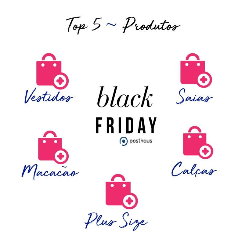 50d7fcb2ec Categorias de produtos em destaque Black Friday Posthaus – Vestidos