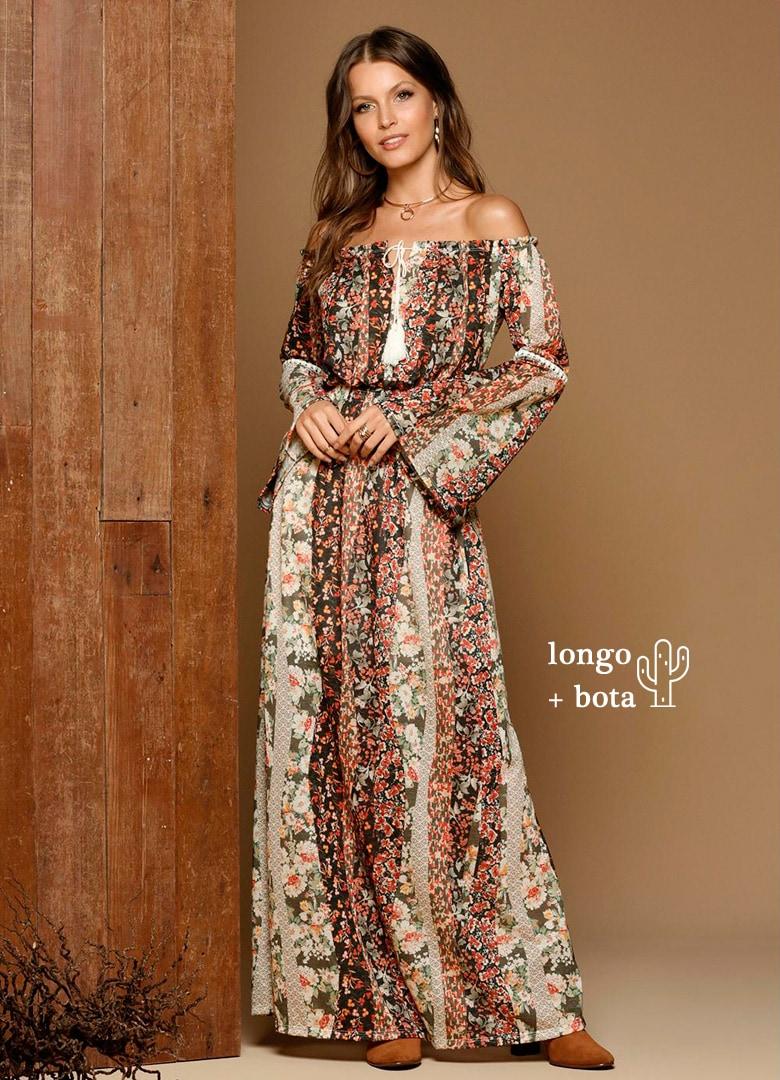 Vestido longo - Clique para COMPRAR