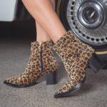 É tendência: Calçados animal print
