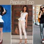 Tá na moda: Peplum