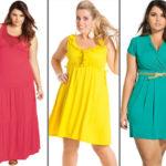Moda Plus Size: Vestidos nota 10!