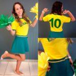 Looks para o Jogo do Brasil!
