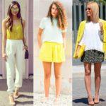 Tendência do Verão 2015: Amarelo!