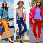 Como usar: calça jeans colorida!