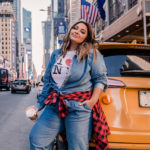 Plus Size: Débora Fernandes em Nova York