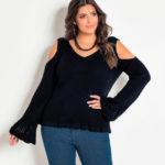 Plus Size: dicas para usar tricô